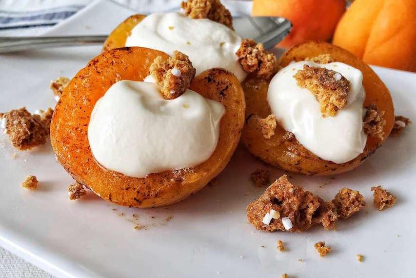 Apricot Crumble Dessert