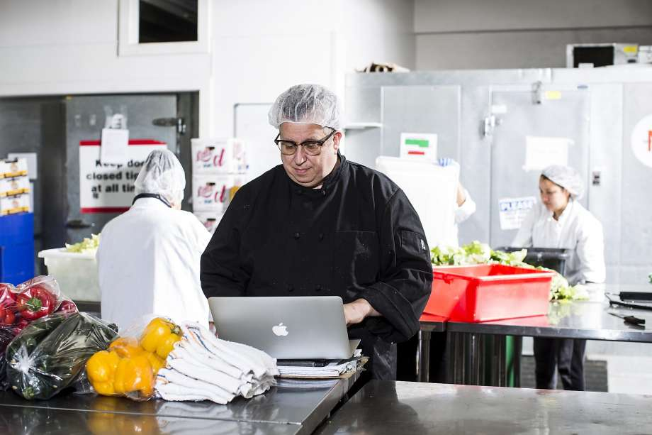 Steven Levine is resident chef at San Francisco's Munchery